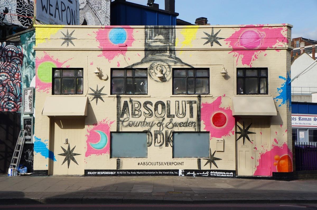 【英國】Absolut Silverpoint 實境遊戲 x 品牌行銷